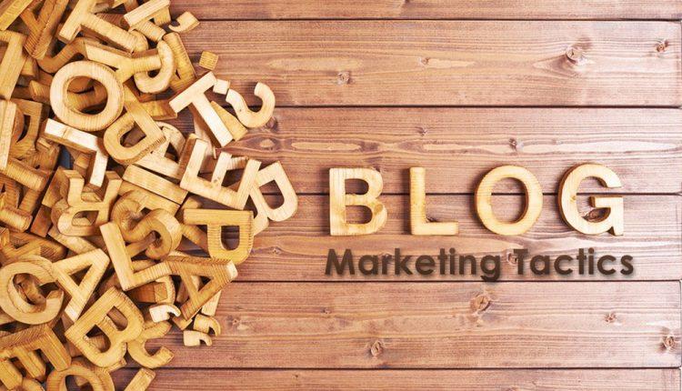 blog promotion marketing tactics