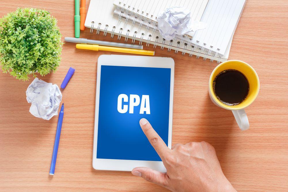 CPA Marketing Concept