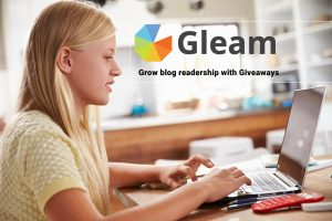 Gleam to grow blog readership through giveaways